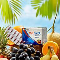 Thực Phẩm Bảo Vệ Sức Khỏe ROBVITA multivitamin và khoáng chất bồi bổ sức khỏe Robinson Pharma Usa - Hộp 50 viên thumbnail