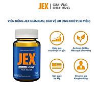 Viên uống JEX giảm đau, bảo vệ xương khớp với Eggshell Membrane, Collagen Peptide, Collagen Type II không biến tính (30 viên) thumbnail