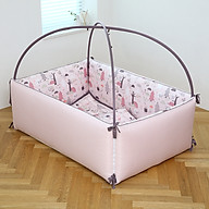 Giường Sợi Tre LOL Baby Bumper Pink Forest thumbnail