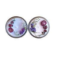 Combo 2 nến thơm tinh dầu 100g 1 lavender, 1 hoa anh đào, giúp thư giãn, thơm phòng khử mùi, handmade thumbnail