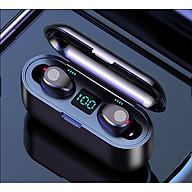 Tai Nghe Bluetooth Không Dây Lanith 5.0 F9 - Tai Nghe Airport Cao Cấp - Kiểu Dáng Độc Đáo, Nhỏ Gọn - Âm Thanh Mềm Mượt, Thoải Mái, Không Làm Nhức Tai - Hàng Nhập Khẩu - TAI000F9B thumbnail