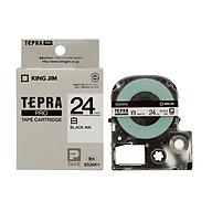 Băng mực in nhãn Tepra cỡ 24mm dùng cho máy TEPRA PRO SR530 SR970 SR5900P HÀNG CHÍNH HÃNG thumbnail