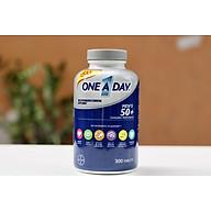 Vitamin tổng hợp cho Nam trên 50 Tuổi ONE A DAY MEN 50+ Healthy Advantage 300 viên mẫu mới thumbnail