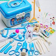 Bộ đồ chơi bác sĩ cho bé 33 chi tiết bổ ích thú vị bằng nhựa nguyên sinh ABS cao cấp an toàn cho bé - DC043 thumbnail