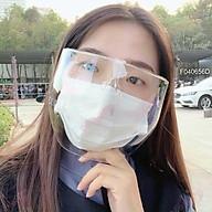 Hàng Loại 1 Kính bảo hộ chống giọt bắn chống bụi ,giọt bắn , tia UV bảo vệ toàn diện khuôn mặt cực thời trang -KBH21 thumbnail