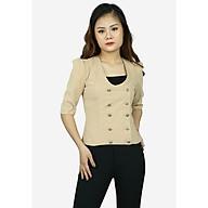 Áo vest nữ da lộn be AGB0591BE thumbnail