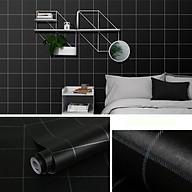 Cuộn 10M Giấy dán tường CARO ĐEN có sẵn keo rộng 45cm (tự thi công) dùng cho đủ loại bề mặt sơn, gỗ, kim loại với diện tích hoàn thiện đến 4m2 giúp không gian trở nên mới mẻ, sinh động thumbnail