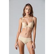 Áo ngực nữ không đường may Corèle V. 3297B nâng ngực mút dày, có gọng màu da nhạt thumbnail