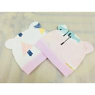 Combo 2 Mũ Che Thóp Cotton Mềm Cho Trẻ Sơ Sinh 0-8 Tháng- Họa Tiết Ngộ Nghĩnh - ( Màu Ngẫu Nhiên ) thumbnail