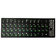 Tấm dán bàn phím tiếng Nga (Russian Keyboard Sticker) thumbnail