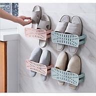 Giá để giày dép Thông minh, Móc treo dép Xếp Gọn Ngang tiết kiệm không gian GD279-MTDep-XNgang ( màu ngẫu nhiên) thumbnail