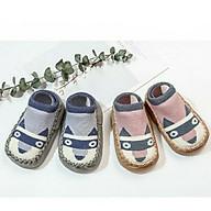 Combo 2 đôi giày len tập đi chống trượt cho bé trai, bé gái thumbnail