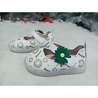 giày búp bê trẻ em hoa cúc đế đèn thumbnail