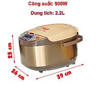 Nồi cơm điện tử Soho 2.2L 900W - Hàng chính hãng thumbnail