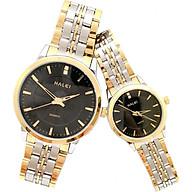 Cặp Đồng Hồ Nam Nữ Halei HL552 (Tặng pin Nhật sẵn trong đồng hồ + Móc Khóa gỗ Đồng hồ 888 y hình + hộp chính hãng) thumbnail