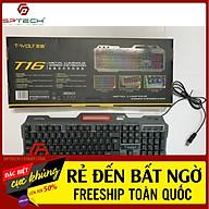 Bàn phím Keyboard GAMING T-WOLF TF16 LED 7 MÀU Chuyên Game thumbnail