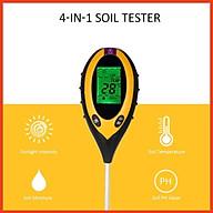 Máy đo độ pH đất, độ ẩm, ánh sáng, nhiệt độ, dụng cụ đo pH 4 in 1 thumbnail