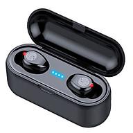 Tai nghe Bluetooth Không Dây True Wireless AMOI F9 V5.0 kèm Hộp sạc Nghe 90h Tự Động Kết Nối - Hàng chính hãng thumbnail