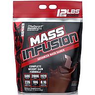 Sữa tăng cân - tăng cơ Mass Infusion NUTREX 5.4Kg thumbnail