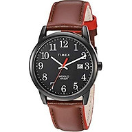 Timex Men s Easy Reader Leather Strap 38mm Watch thumbnail
