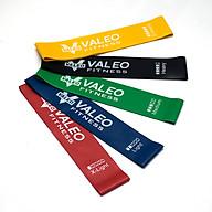 Bộ 5 dây mini Band, Dây cao su kháng lực miniband Valeo tập chân mông thumbnail