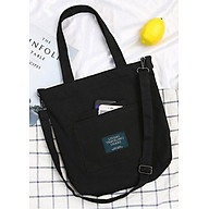 Túi đeo chéo vải canvas LAHstore, túi vải nữ TV014, phong cách Hàn Quốc, thời trang trẻ thumbnail