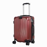 VALIZIO - Vali kéo du lịch nhựa chịu lực khóa 3 số bảo mật cao V211 thumbnail