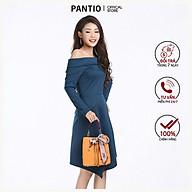 Đầm công sở dáng xòe dài tay FDD9010 - PANTIO thumbnail
