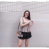 Chân váy DẬP LY 2 TẦNG có quần bên trong cực xinh thumbnail