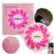 Phấn Má Hồng Mira Crystal Flower Art Blusher Hàn Quốc 10g No.1 Jelly Pink tặng kèm móc khóa thumbnail