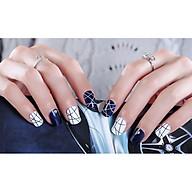 Bộ 24 móng tay giả nail thơi trang như hình thumbnail