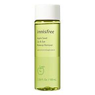 Dầu tẩy trang mắt và môi Innisfree Apple Seed Lip & Eye Makeup Remover 131172040 (100ml) thumbnail