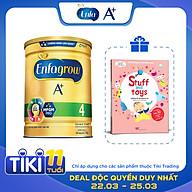 Combo 1 Lon Sữa Bột Enfagrow A+ 4 1.7kg Tặng Sách Lật Mở Khám Phá thumbnail