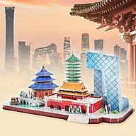 Bộ đồ chơi mô hình lắp ráp CubicFun 3D - Mẫu Thành Phố Bắc KInh, Trung Quốc thumbnail