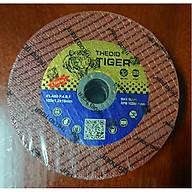 Hộp 100 viên Đá cắt sắt và Inox cỡ105 mm Tiger đỏ chính hãng. thumbnail
