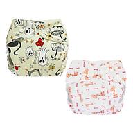 Tã vải BabyCute ban Đêm Siêu chống tràn - Mua 2 bộ tã size S (3-9kg) - Tặng 1 bỉm Cotton size 1 (5-10kg) - Giao mẫu ngẫu nhiên thumbnail