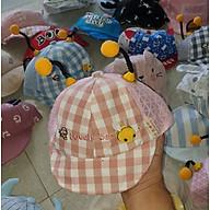 Mũ lưỡi trai trẻ em, kiểu dáng hiện đại đáng yêu, cực bắt mắt chất liệu an toàn với trẻ nhỏ dành cho bé từ 6-24 tháng,giao màu ngẫu nhiên hoặc chat để chọn mẫu thumbnail