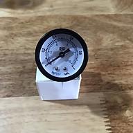 Đồng hồ đo áp suất nước, khí nén, áp kế, van đo áp suất Y40, 0 1 Mpa (0 10 kg cm2) thumbnail