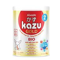 [Tinh tuý dưỡng chất Nhật Bản] Sữa bột KAZU BIO GOLD 350g 2+ (trên 24 tháng) thumbnail