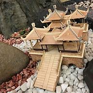 Đồ chơi lắp ráp gỗ 3D Mô hình Nhà gỗ Wutingqiao thumbnail