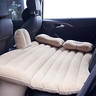 Bộ giường hơi + 2 gối chất liệu nhung cao cấp trên xe hơi thumbnail