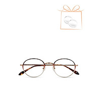 aojo - Gọng kính kim loại phom tròn thời trang AJ105FE269-BRC2 thumbnail