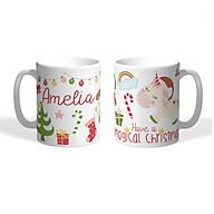 Cốc sứ Noel chào đón Giáng sinh an lành thumbnail