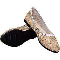 Giày búp bê lưới cao su thoáng mát siêu bền-305 Vàng thumbnail