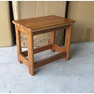Ghế đôn gỗ cao su 100% thumbnail