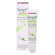 Lăn Dưỡng Mắt Simple Kind To Skin Revitalising Eye Roll On 15ml thumbnail