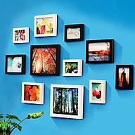 Bộ 11 Khung ảnh Treo Tường Phòng khách KAD1102 Miễn phí phụ kiện. thumbnail