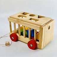 Đồ chơi gỗ - Xe Cũi Thả Hình M2 thumbnail