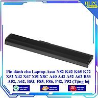 Pin dành cho Laptop Asus N82 K42 K65 K72 X52 X42 X67 X5I X8C A40 A42 A52 A62 B53 A52 A62 B53 F85 F86 P42 P52 - Hàng Nhập Khẩu thumbnail