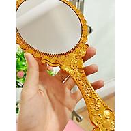 Gương Princess Cầm Tay Tặng Kèm Nạ Nén thumbnail